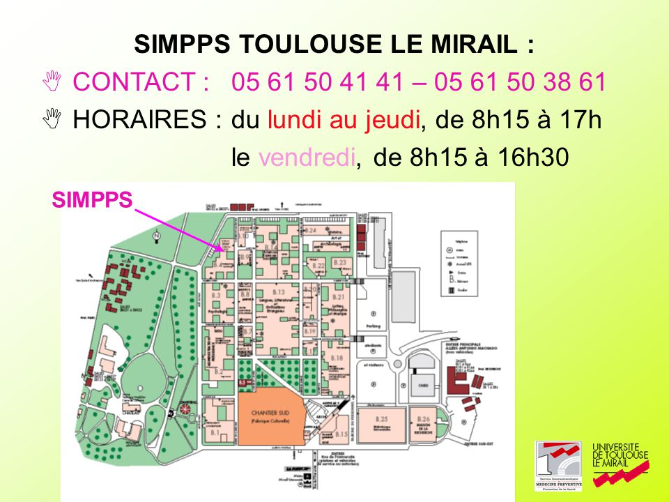 SIMPPS TOULOUSE LE MIRAIL :