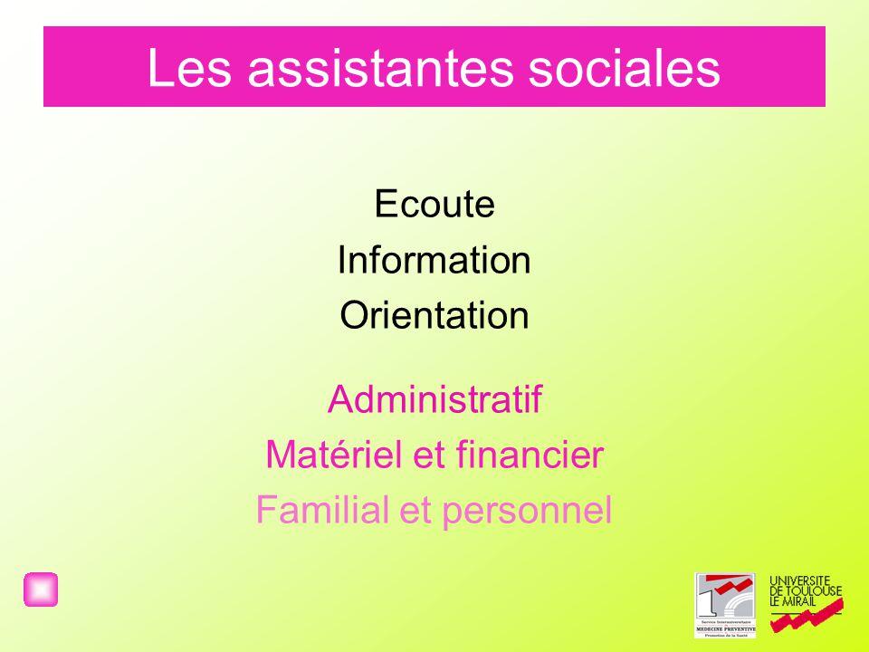 Les assistantes sociales