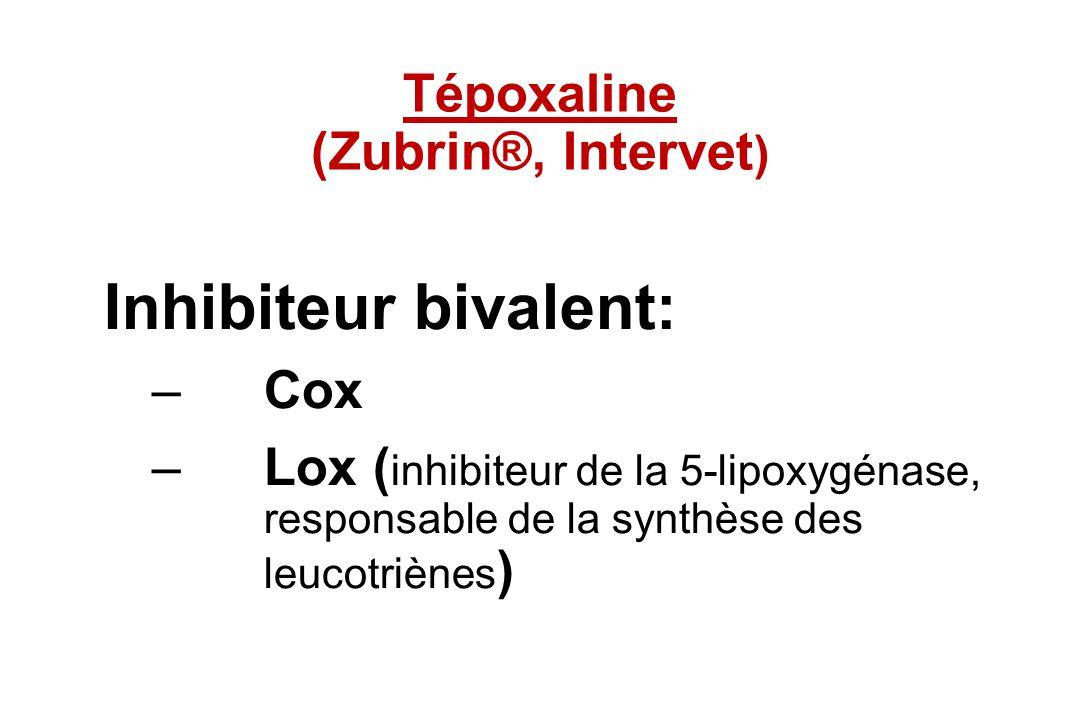 Tépoxaline (Zubrin®, Intervet)