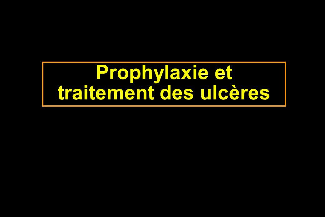 Prophylaxie et traitement des ulcères