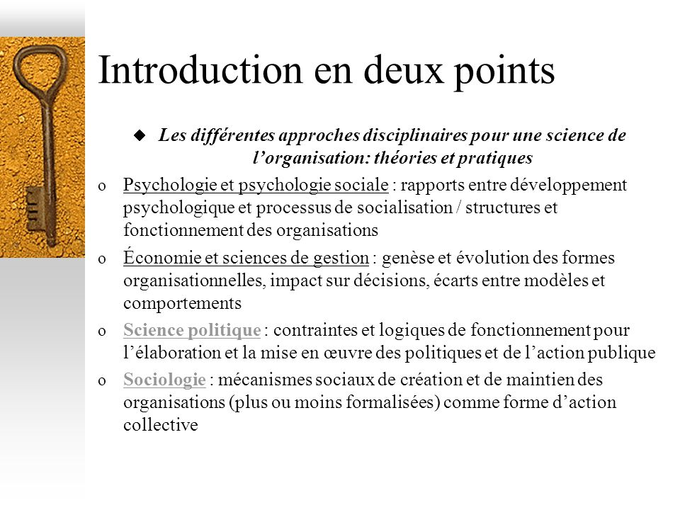 Introduction en deux points