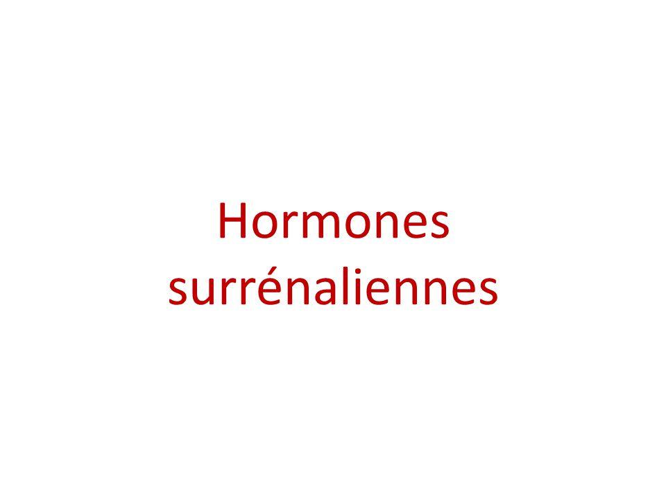 Hormones surrénaliennes