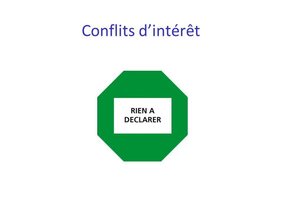 Conflits d'intérêt