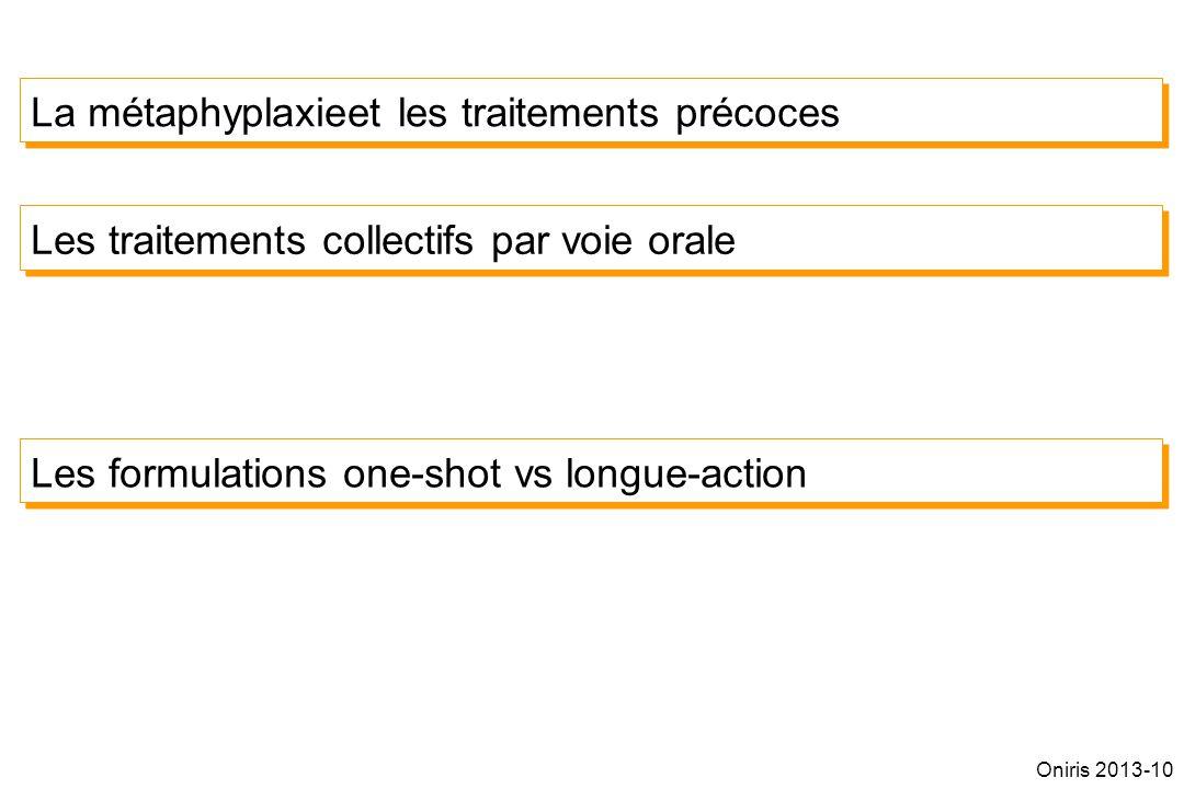 La métaphyplaxieet les traitements précoces