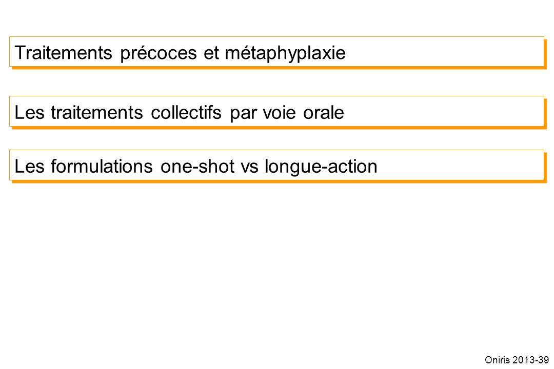 Traitements précoces et métaphyplaxie