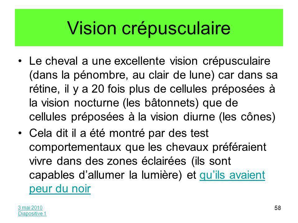 Vision crépusculaire