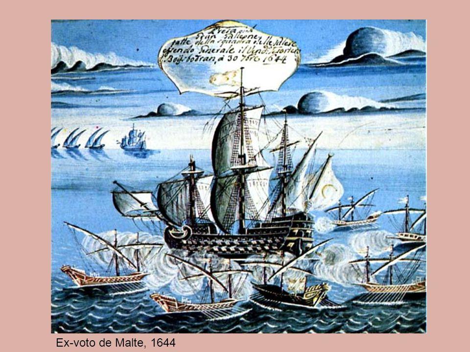 Ex-voto de Malte, 1644