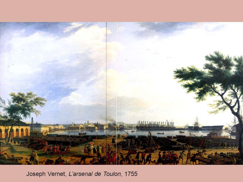 Joseph Vernet, L'arsenal de Toulon, 1755