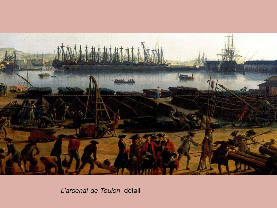 L'arsenal de Toulon, détail