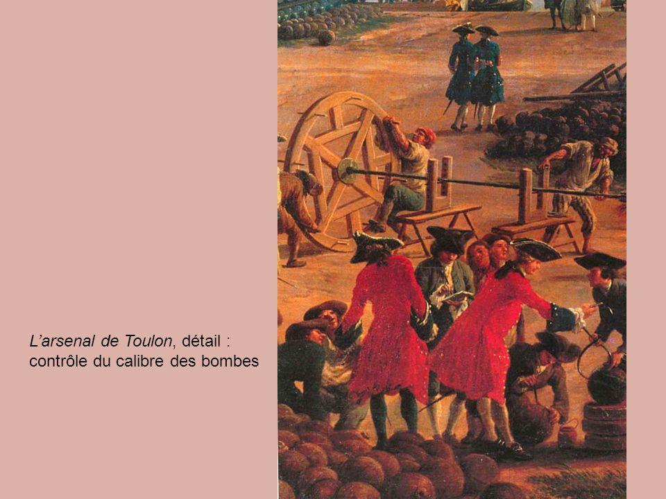 L'arsenal de Toulon, détail :