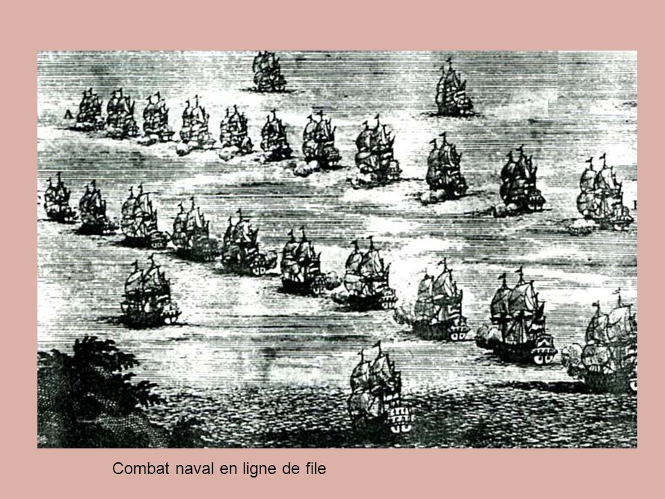 Combat naval en ligne de file