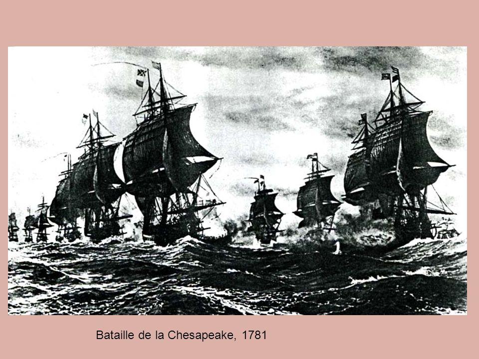 Bataille de la Chesapeake, 1781