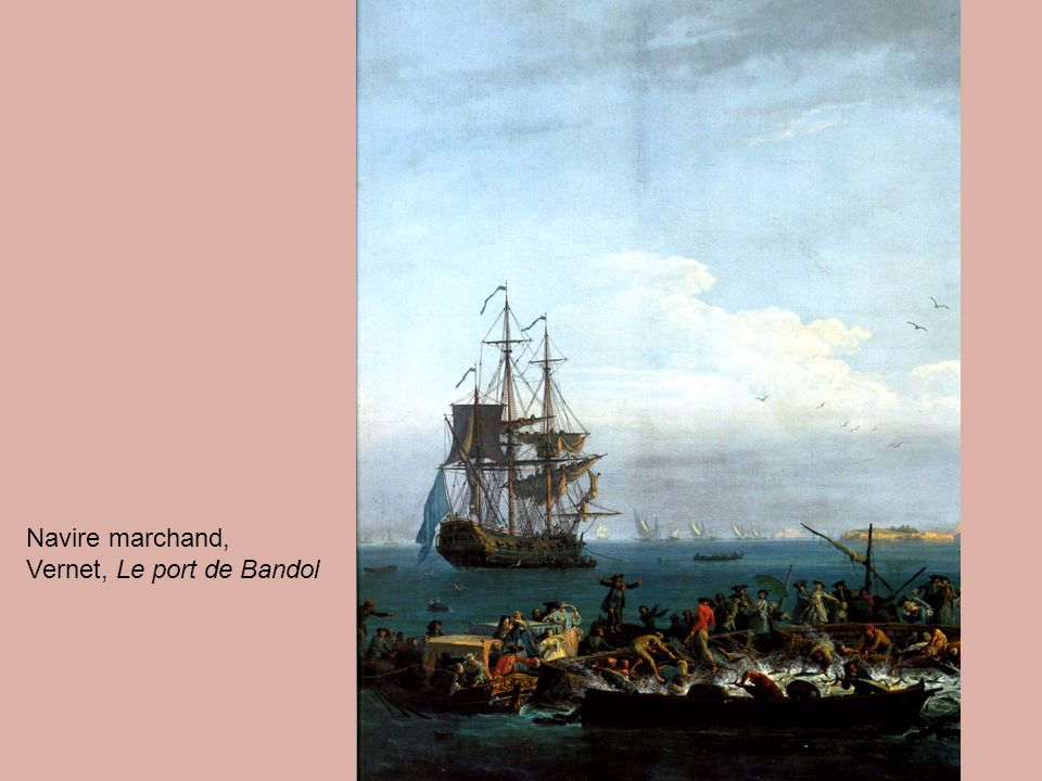 Navire marchand, Vernet, Le port de Bandol