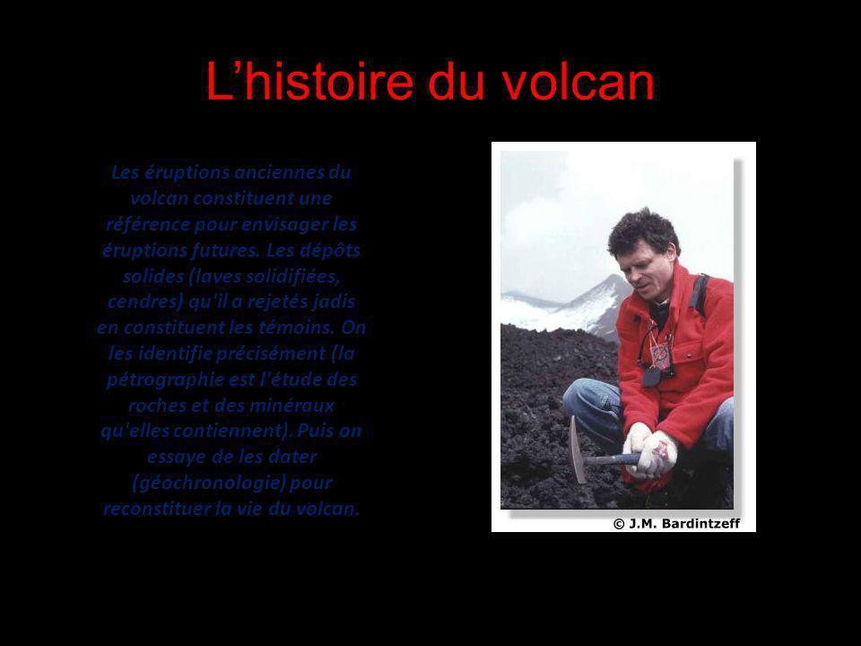 L'histoire du volcan