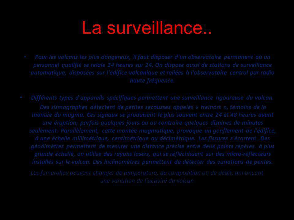 La surveillance..