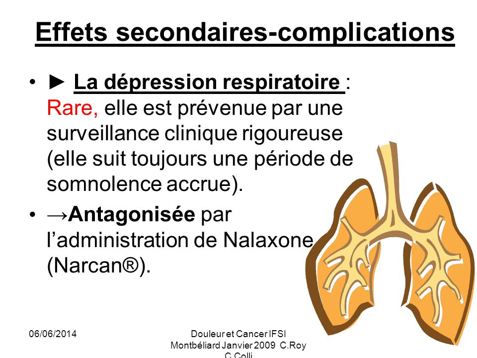 Effets secondaires-complications