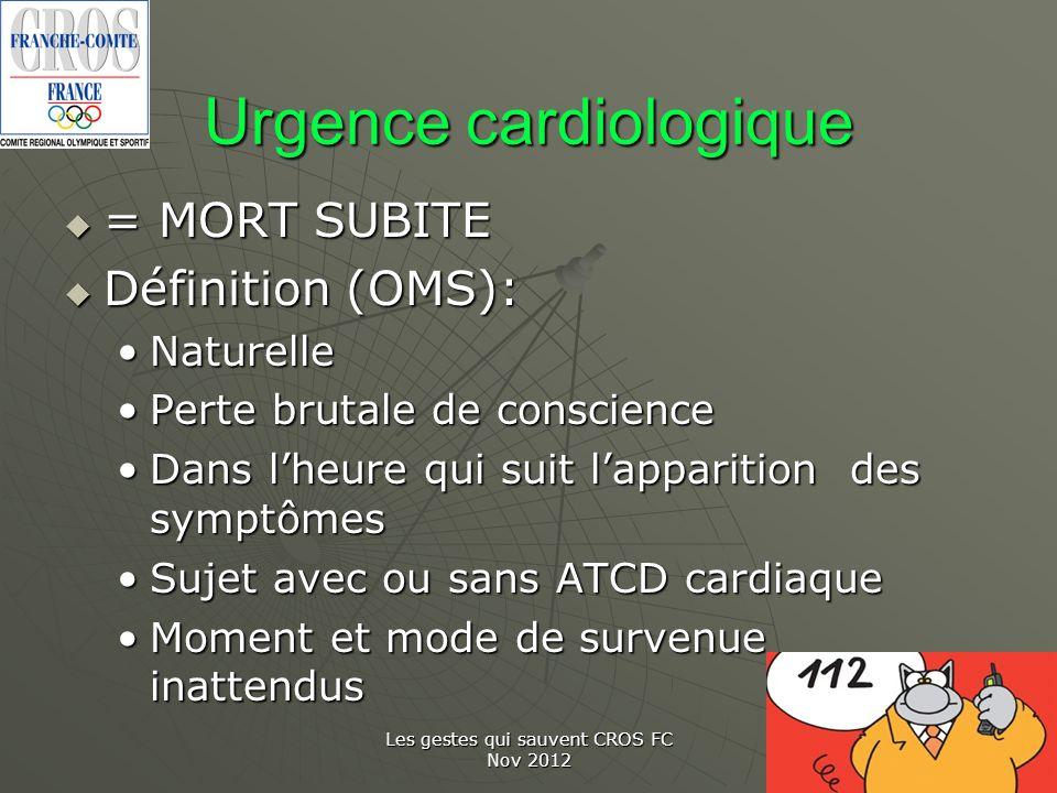 Urgence cardiologique