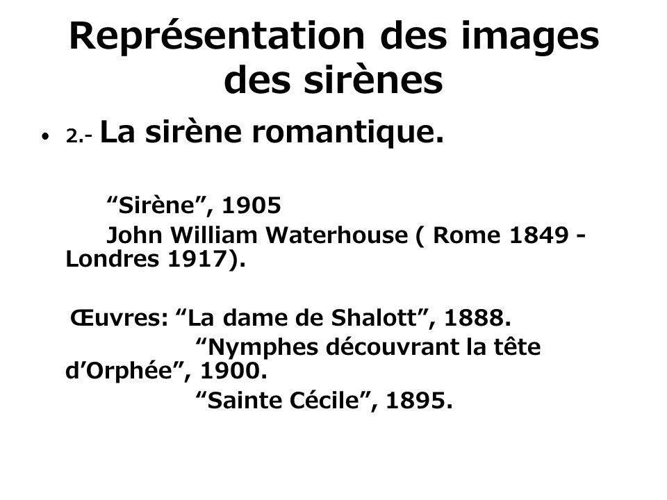 Représentation des images des sirènes