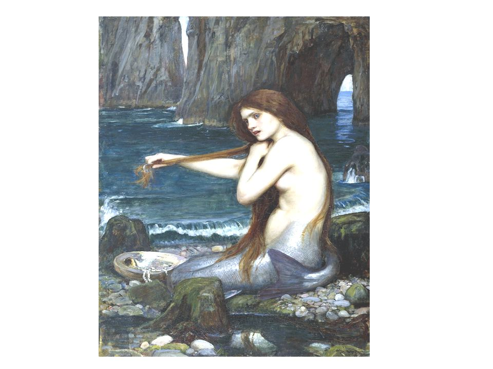 Siréne, 1900. Huile sur toile. Royal Academy of Arts. Londres.