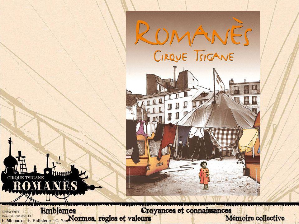 Pour cette expertise culturelle, nous avons choisi d'étudier la culture du cirque Romanès. Ce cirque est installé chaque hiver, Porte de Champerret dans le 17° arrondissement de Paris. Actuellement, ils présentent leur nouveau spectacle intitulé : « Les Tsiganes tombent du ciel ». On peut y avoir des acrobates, des jongleurs, des funambules et diverses autres numéros accompagnés par un groupe de musique tsigane. Les représentations ont lieu sous le chapiteau du cirque, tous les samedis et dimanches jusqu'à fin mai 2011.