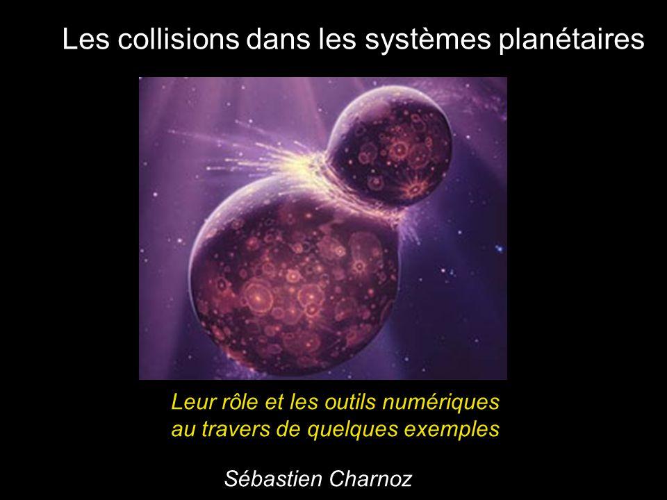 Les collisions dans les systèmes planétaires