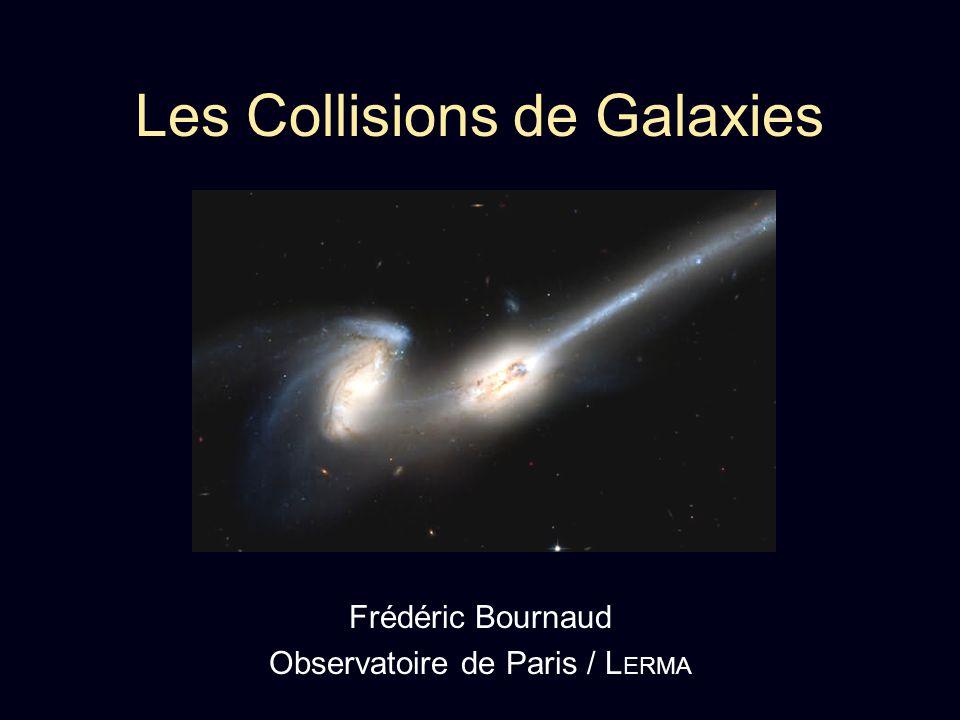 Les Collisions de Galaxies