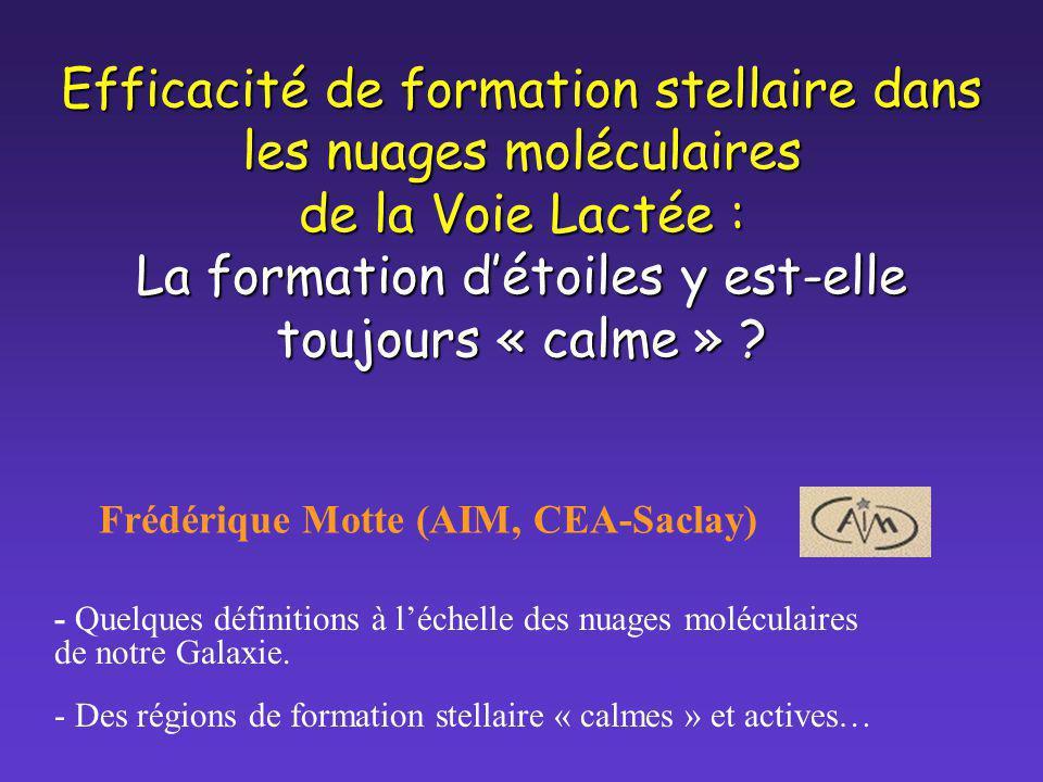 Frédérique Motte (AIM, CEA-Saclay)
