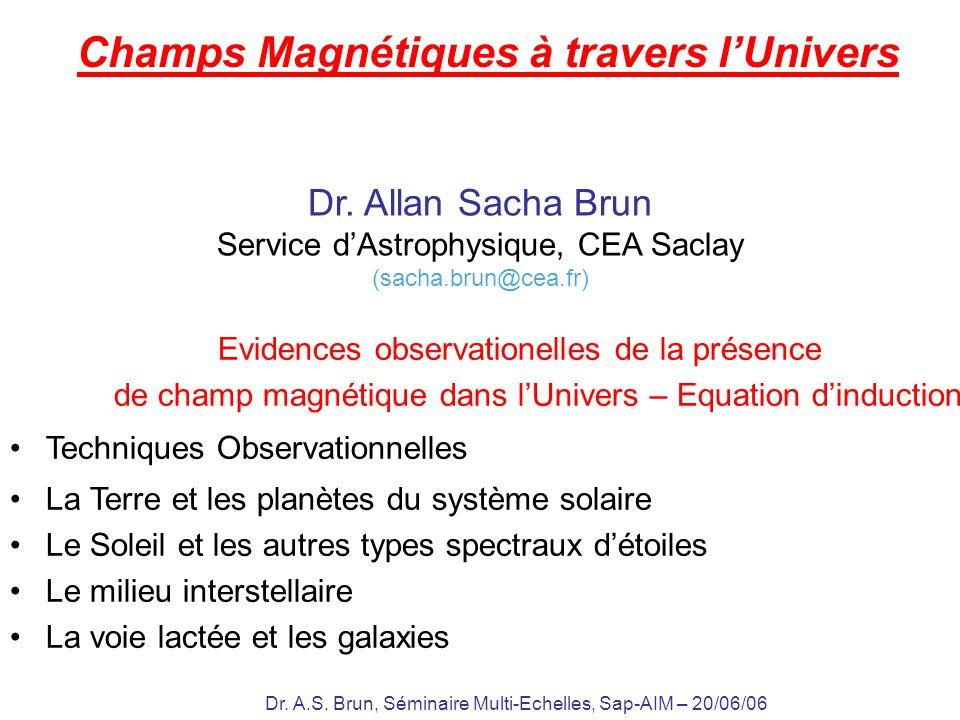 Champs Magnétiques à travers l'Univers