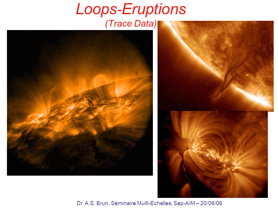 Loops-Eruptions (Trace Data)