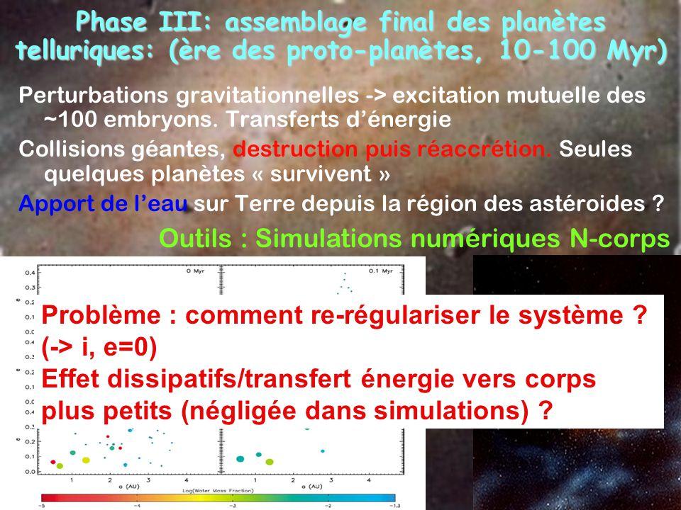Outils : Simulations numériques N-corps
