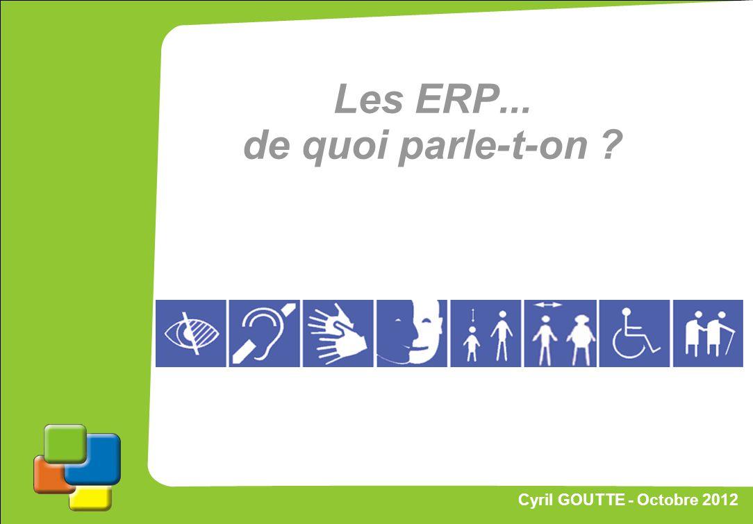 Proposition de stratégie Les ERP... de quoi parle-t-on