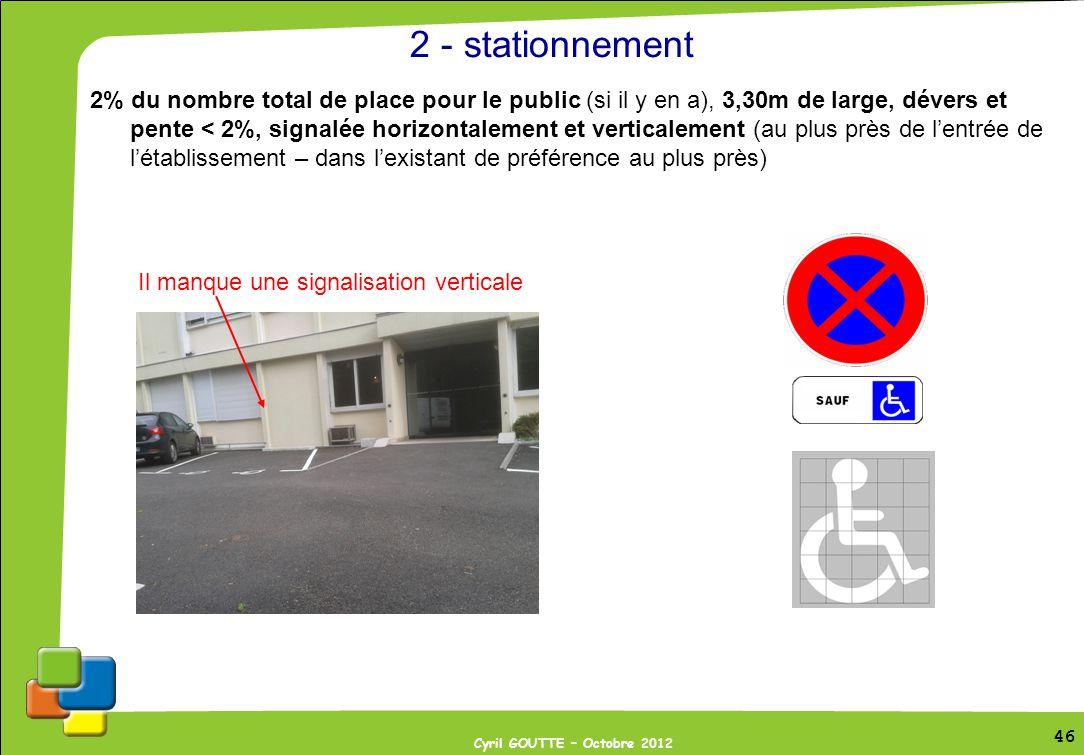 2 - stationnement