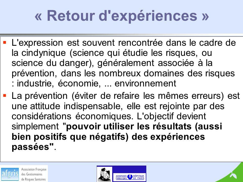 « Retour d expériences »