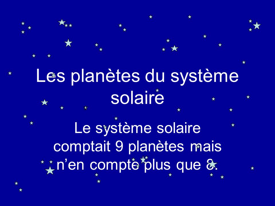 Super Les planètes du système solaire - ppt télécharger ZU75