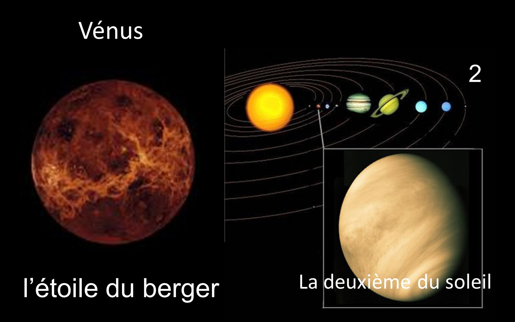 l'étoile du berger 2 La deuxième du soleil _Vénus