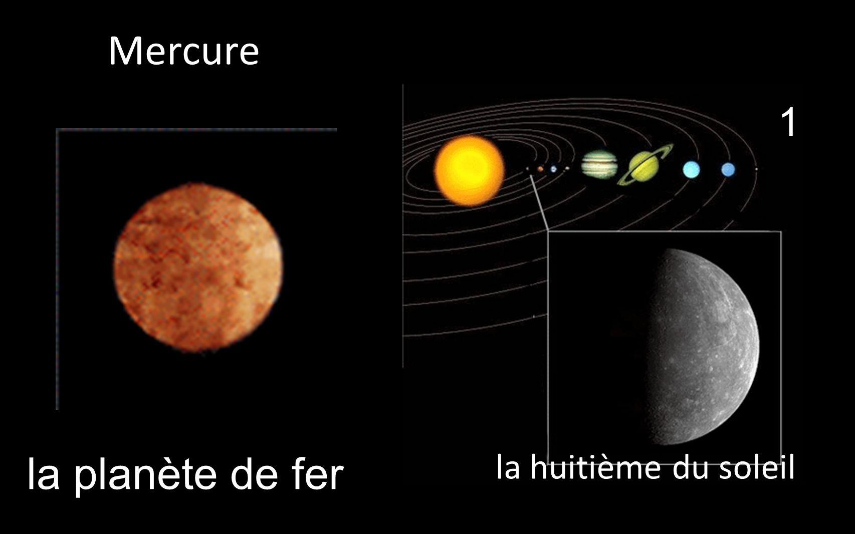 la planète de fer 1 la huitième du soleil _Mercure