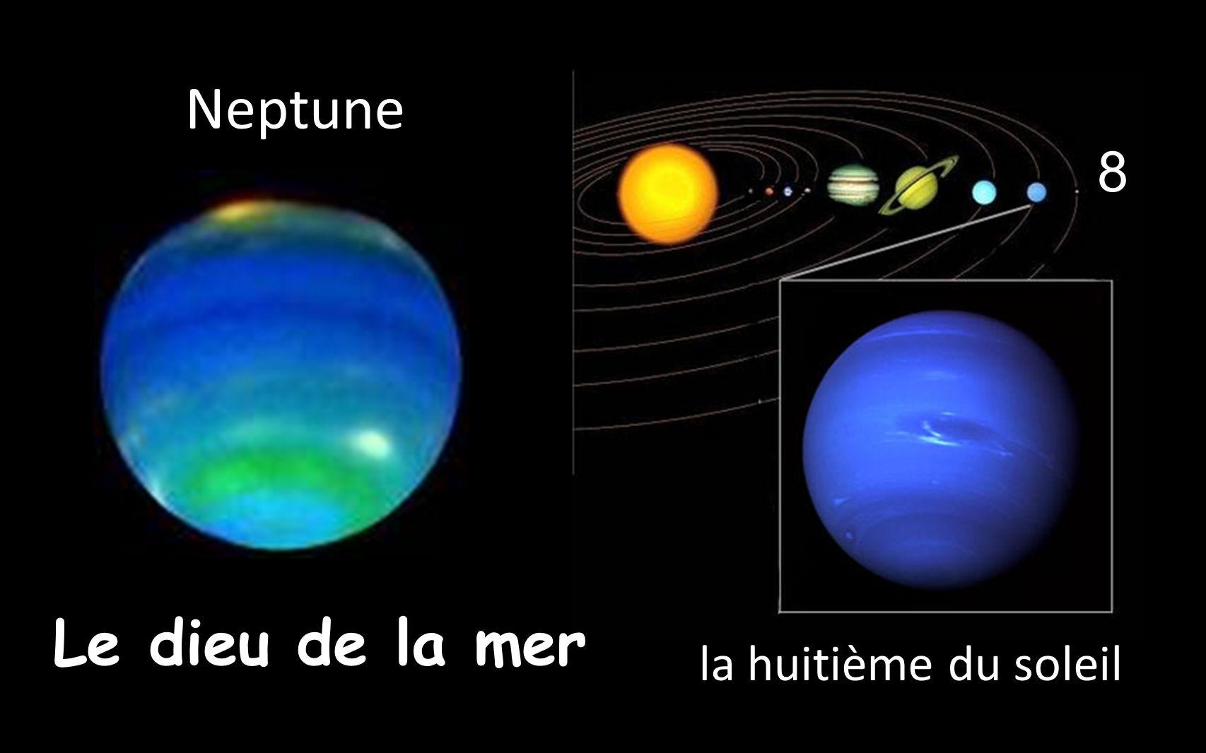 8 la huitième du soleil _Neptune _Le dieu de la mer