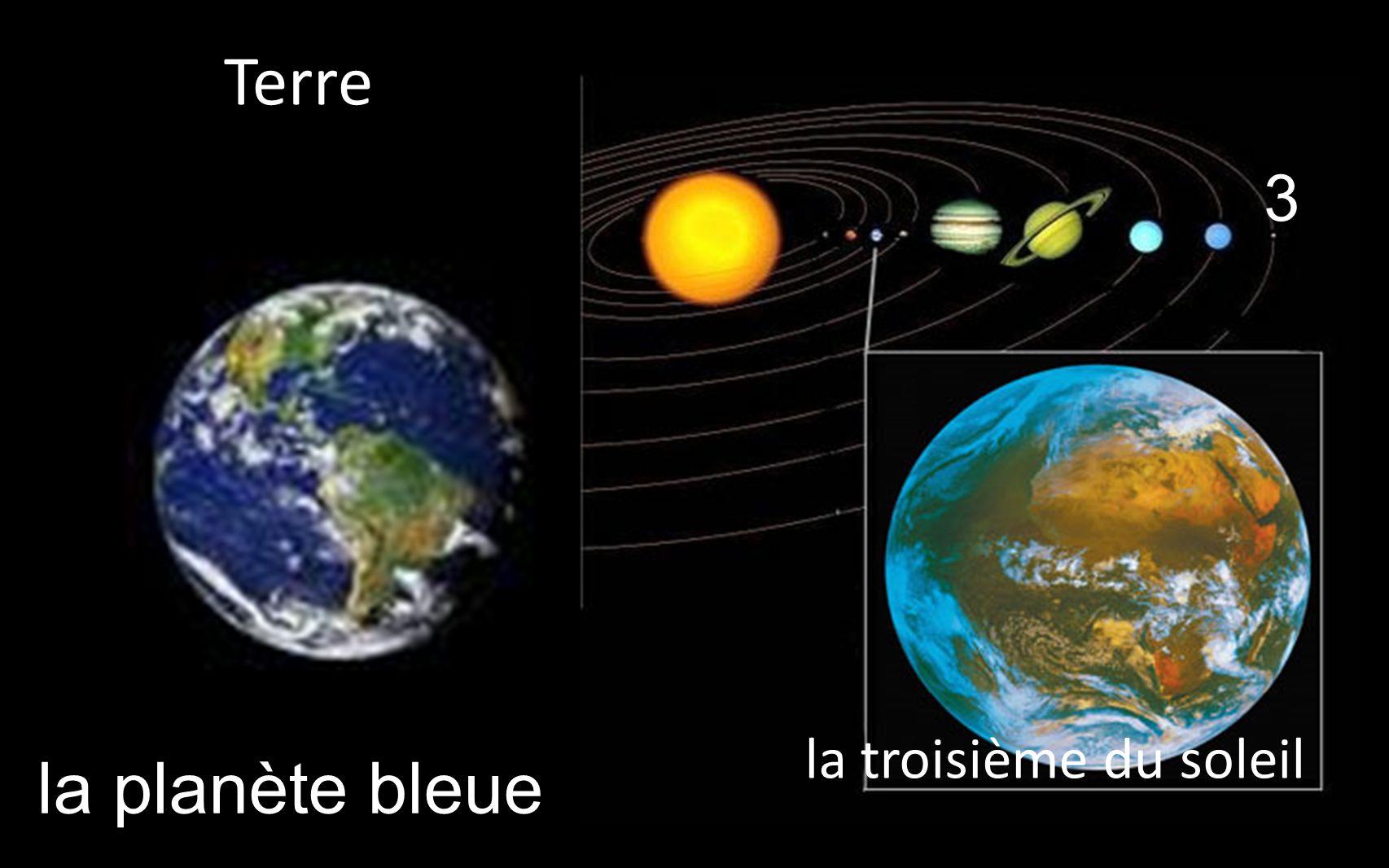 la planète bleue 3 la troisième du soleil _Terre