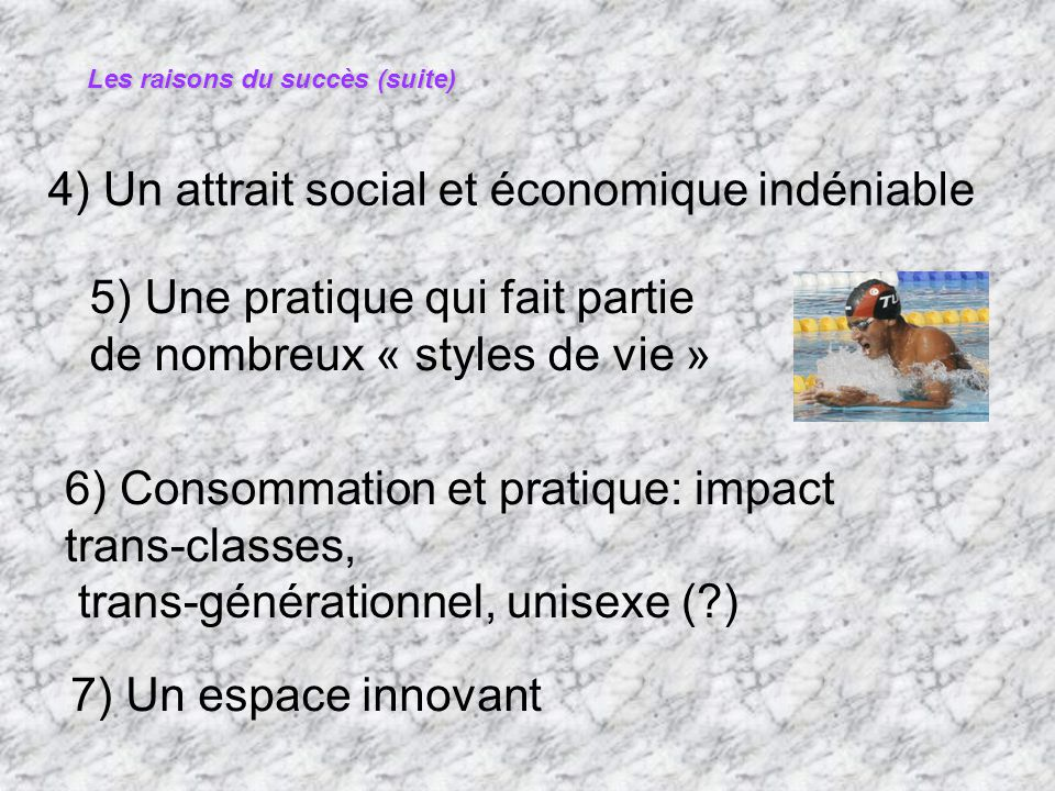 4) Un attrait social et économique indéniable