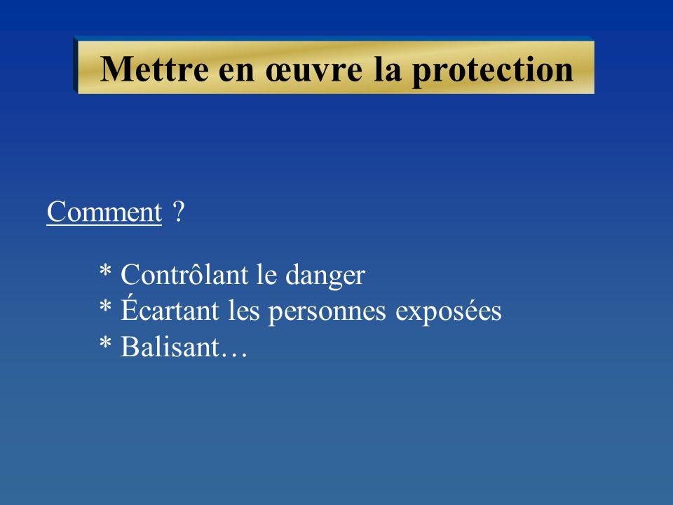 Mettre en œuvre la protection