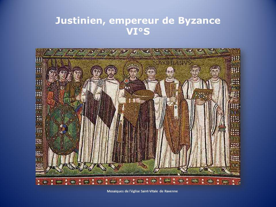 Justinien, empereur de Byzance VI°S