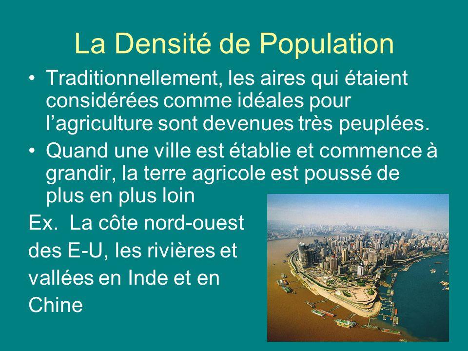 La Densité de Population