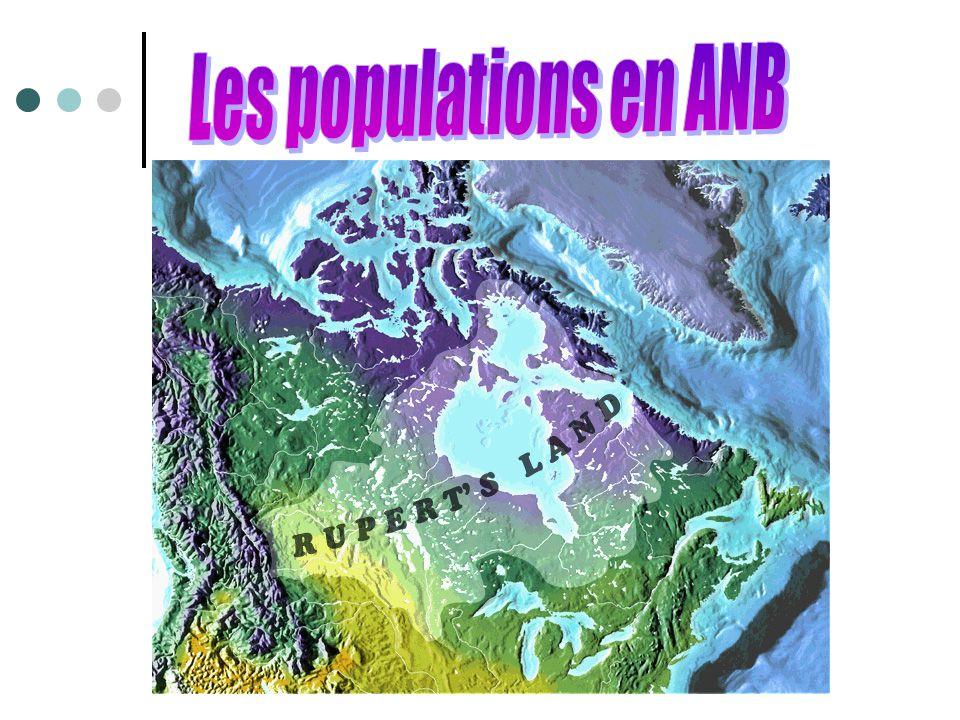 Les populations en ANB