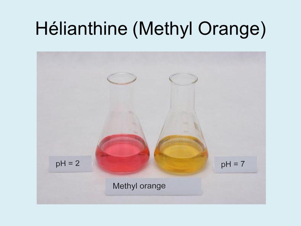 Hélianthine (Methyl Orange)