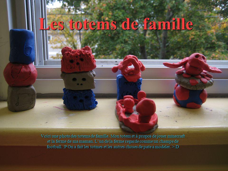 Les totems de famille