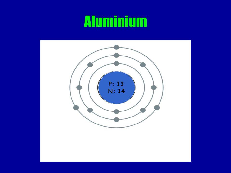 Aluminium P: 13 N: 14