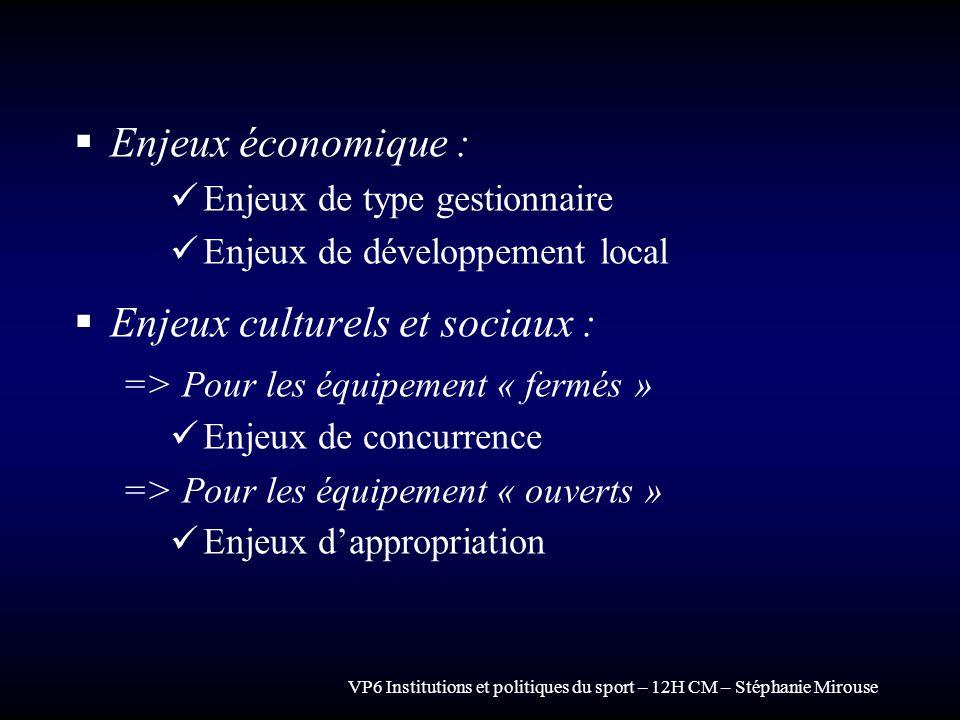 Enjeux culturels et sociaux :