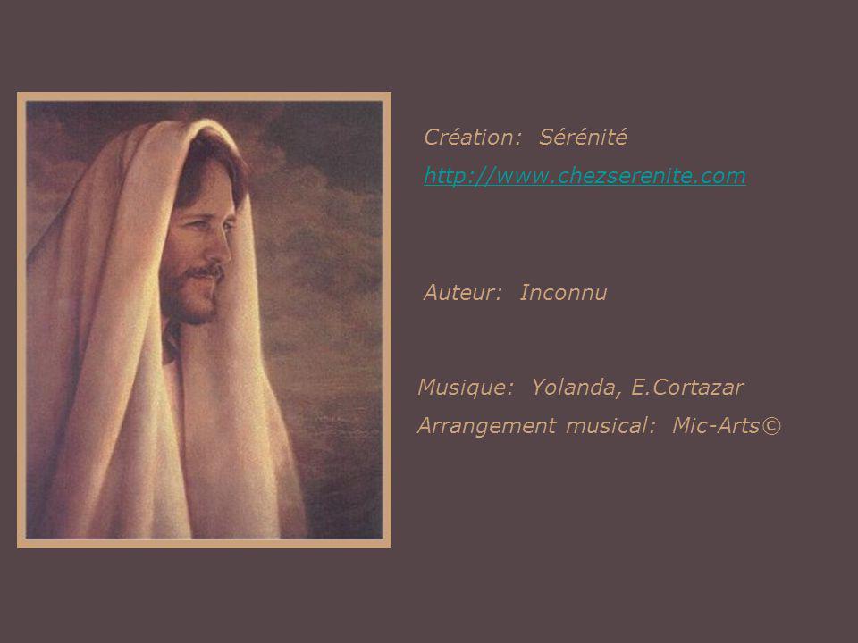 Création: Sérénité http://www.chezserenite.com. Auteur: Inconnu. Musique: Yolanda, E.Cortazar.