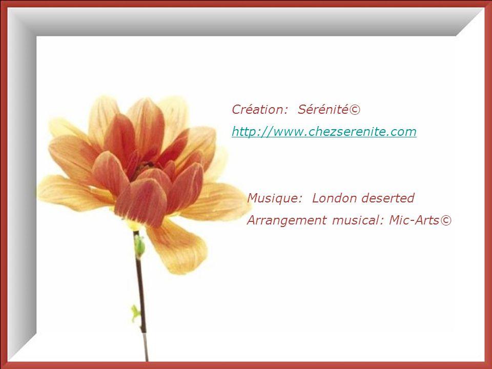 Création: Sérénité© http://www.chezserenite.com. Musique: London deserted.