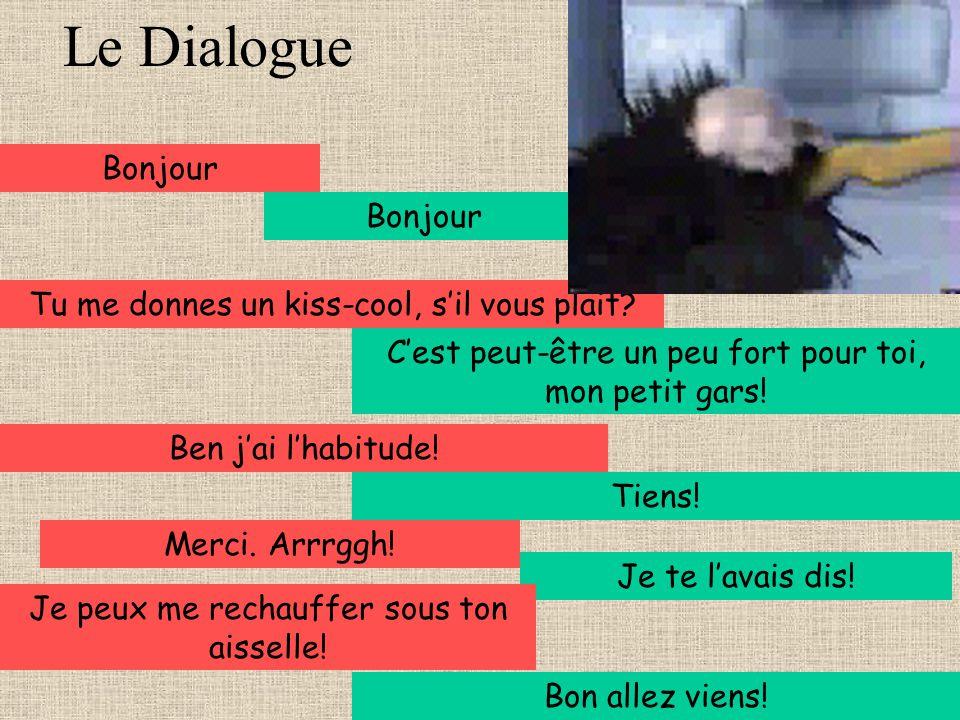 Le Dialogue Bonjour Bonjour